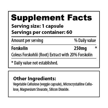 Forskolin 60 - sup facts-02