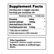 Garcinia Cambogia 1600-70 180-count - sup facts-02