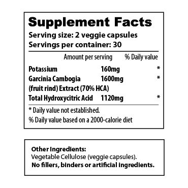 Garcinia Cambogia 1600-70 - sup facts-02