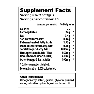 Omega 3 - 60-count Lemon - sup facts-02
